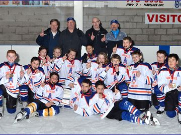 Oakville Oilers slick at Havelock hockey tournament